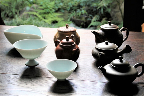 日本の茶器